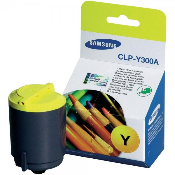 Картридж Samsung CLP-Y300A для CLP-300/CLX-2160/3160 Yellow 1000 страниц
