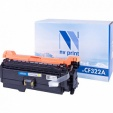 Kартридж NV-Print CF322A 653A Yellow для HP LJ Color M680, M680dn, M680f, M680z (16500 страниц)